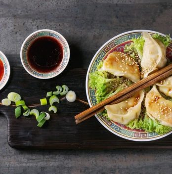 Easy Chicken Pot Stickers